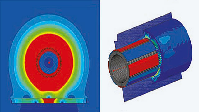 Simulation of turbines for wind energy converters with ANSYS Maxwell