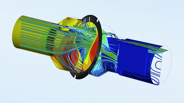 ANSYS Multiphysics Coupling Flow Meter