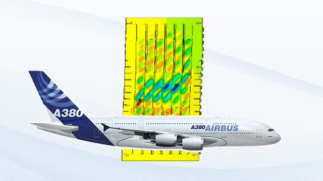 [Translate to French:] Parametric modeling and automized simulation of fuselage skin panels