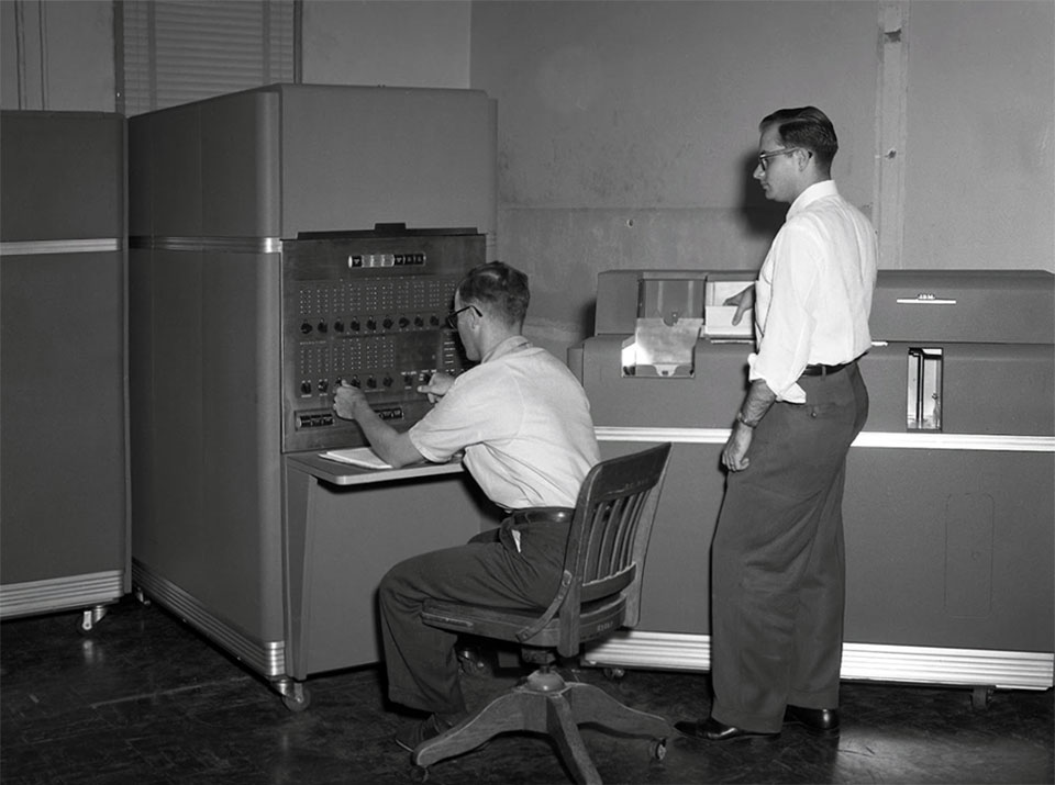 IBM 650 computer an der Texas A&M University