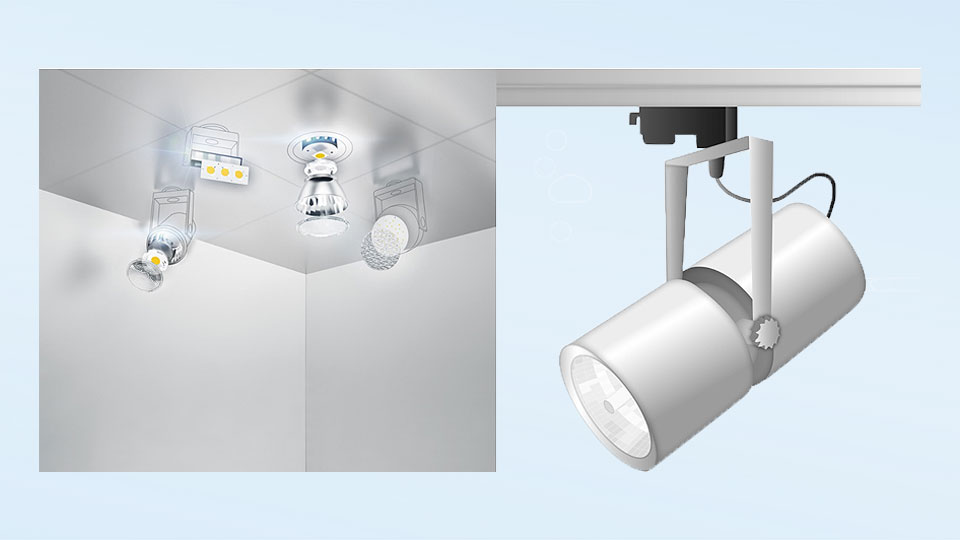 Modular design with electrical connection components for downlight luminaires