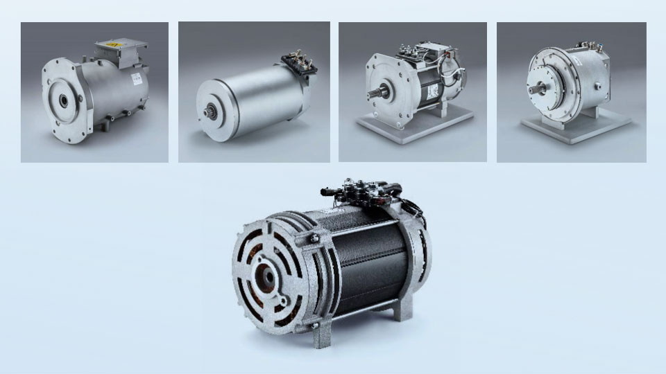 A selection of customer-specific electric drives from Schabmüller.