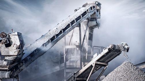 Partikelsimulation in der Schüttgutindustrie: Zerkleinern und Klassieren