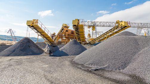 Partikelsimulation im Bergbau und der Fördertechnik